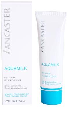 Lancaster Aquamilk nappali fluid hidratáló hatással 1