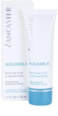 Lancaster Aquamilk mattierendes Fluid  für fettige und Mischhaut 1