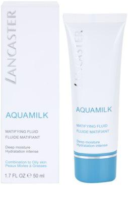 Lancaster Aquamilk mattierendes Fluid  für fettige und Mischhaut 2