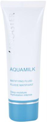 Lancaster Aquamilk fluid matifiant pentru ten mixt si gras