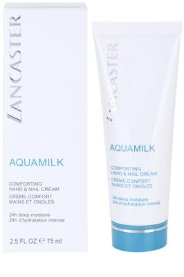 Lancaster Aquamilk crema nutritiva para manos y uñas 1