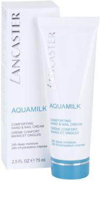 Lancaster Aquamilk crema nutritiva para manos y uñas 2