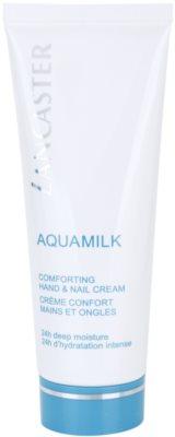 Lancaster Aquamilk tápláló krém kézre és körmökre
