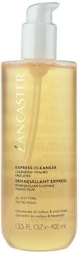 Lancaster Express Cleanser água facial de limpeza  3 em 1