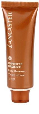 Lancaster Infinite Bronze gel bronzare pentru fata SPF 15