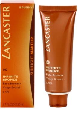 Lancaster Infinite Bronze gel bronzeador para o rosto SPF 6 1