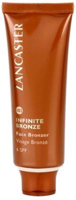 Lancaster Infinite Bronze бронзиращ гел за лице SPF 6
