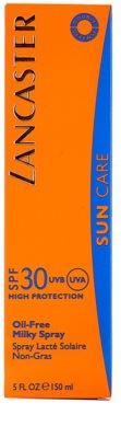 Lancaster Oil Free Spray leite solar em spray SPF 30 3