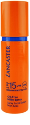 Lancaster Oil Free Spray lapte bronzant cu pulverizator SPF 15