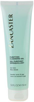 Lancaster Purifying gel de limpeza para pele oleosa