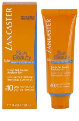 Lancaster Sun Beauty napozó hidratáló géles krém SPF 10 1