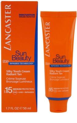Lancaster Sun Beauty crema de soare pentru fata SPF 15 1