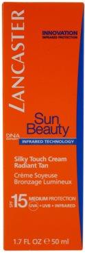 Lancaster Sun Beauty crema de soare pentru fata SPF 15 2