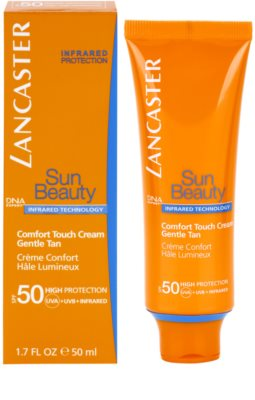 Lancaster Sun Beauty napozókrém arcra SPF 50 1