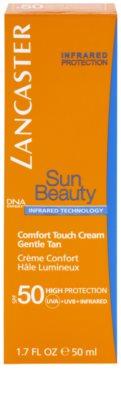Lancaster Sun Beauty napozókrém arcra SPF 50 2