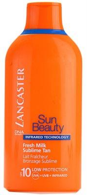 Lancaster Sun Beauty мляко за загар  SPF 10