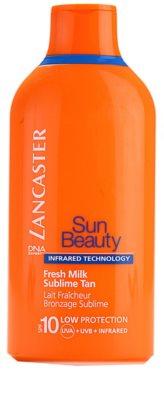 Lancaster Sun Beauty молочко для засмаги SPF 10