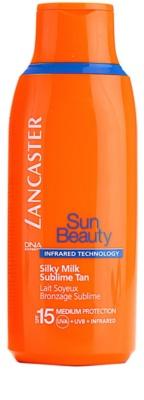Lancaster Sun Beauty mléko na opalování SPF 15