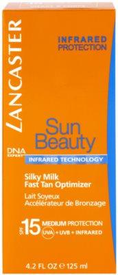 Lancaster Sun Beauty шовковисте сонцезахисне молочко SPF 15 2