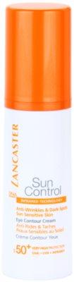 Lancaster Sun Control crema de soare pentru ochi SPF 50+