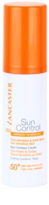 Lancaster Sun Control creme solar para zona dos olhos SPF 50+