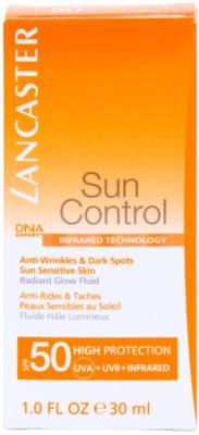 Lancaster Sun Control Anti-Aging Sonnenfluid für strahlenden Glanz SPF 50 2