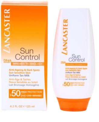 Lancaster Sun Control Bräunungsmilch für empfindliche Haut SPF 50 1