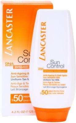 Lancaster Sun Control Bräunungsmilch für empfindliche Haut SPF 50 2