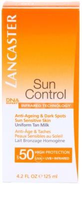 Lancaster Sun Control Bräunungsmilch für empfindliche Haut SPF 50 3