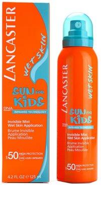 Lancaster Sun For Kids protector solar en aerosol resistente al agua  SPF 50 2