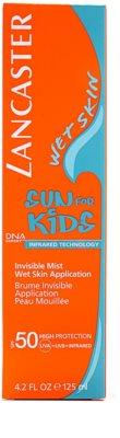 Lancaster Sun For Kids protector solar en aerosol resistente al agua  SPF 50 3