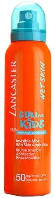 Lancaster Sun For Kids névoa de bronzeamento resistente à água SPF 50