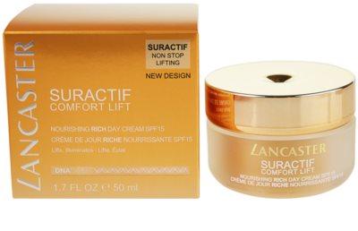 Lancaster Suractif Non Stop Lifting dnevna lifting krema za učvrstitev kože za suho kožo 1