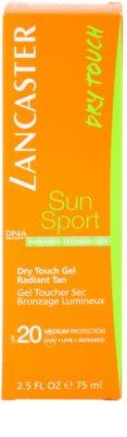 Lancaster Sun Sport napozógél SPF 20 3