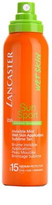 Lancaster Sun Sport mgiełka do opalania do aplikacji na mokrą skórę SPF 15 1