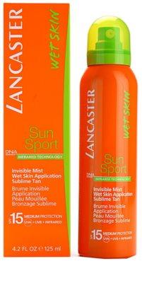 Lancaster Sun Sport mgiełka do opalania do aplikacji na mokrą skórę SPF 15 2
