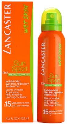 Lancaster Sun Sport napozó permet nedves bőrre SPF 15 2