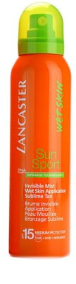 Lancaster Sun Sport Protetor solar para aplicação em pele molhada SPF 15