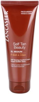 Lancaster Self Tan Beauty crema autobronceadora   para cara y cuerpo