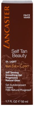 Lancaster Self Tan Beauty Gel bronzeador suavizante para rosto 2