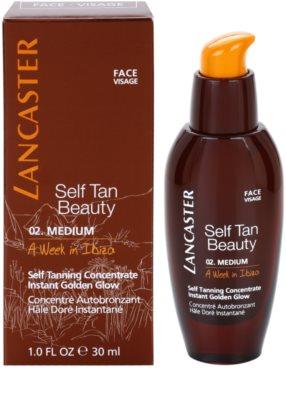 Lancaster Self Tan Beauty autobronzant concentrate pentru ten 1