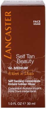 Lancaster Self Tan Beauty autobronzant concentrate pentru ten 2