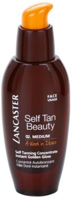 Lancaster Self Tan Beauty autobronzant concentrate pentru ten