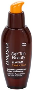 Lancaster Self Tan Beauty önbarnító dúsított termék arcra