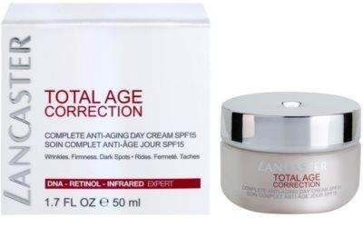 Lancaster Total Age Correction creme diário anti-envelhecimento SPF 15 2