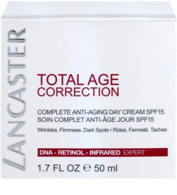 Lancaster Total Age Correction creme diário anti-envelhecimento SPF 15 4