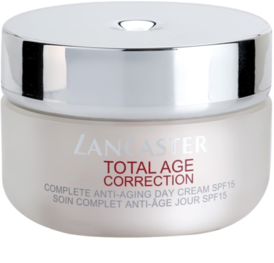 Lancaster Total Age Correction creme diário anti-envelhecimento SPF 15