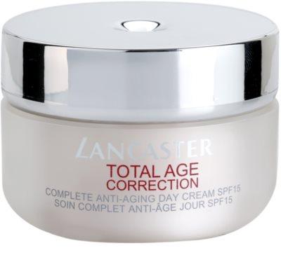 Lancaster Total Age Correction dnevna krema proti staranju kože SPF 15