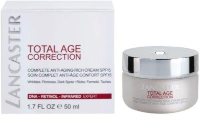 Lancaster Total Age Correction crema antiarrugas para pieles secas y muy secas 2