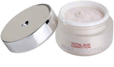 Lancaster Total Age Correction crema antiarrugas para pieles secas y muy secas 3